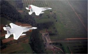 """Israel Air Force planes fly over Auschwitz, pledging to be """"a shield to the Jewish people"""""""
